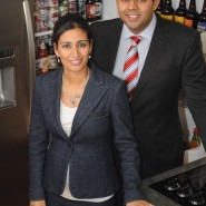 Ravinder and Manjit Minhas at their brewery Minhas Micro Brewery Calgary