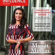 Women of Influence magazine - Manjit Minhas