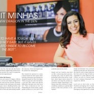 Manjit Minhas new dragon-on-cbc Dragons' Den Aaj Magazine