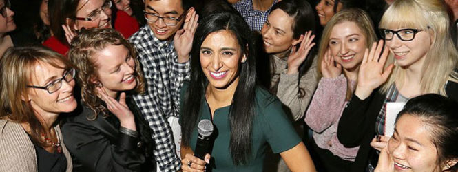 Fortney: Have the courage to succeed, Manjit Minhas tells U of C women in work conference