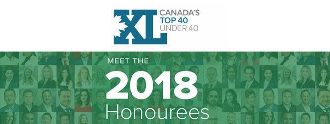 2018 – Canada's Top 40 Under 40