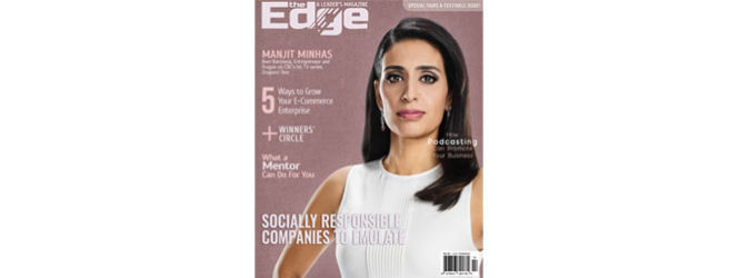 EDGE Magazine : Succeeding with courage and willpower